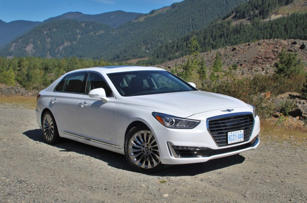 2017 Genesis G90, Image: © 2016 Steph Willems/The Truth About Cars