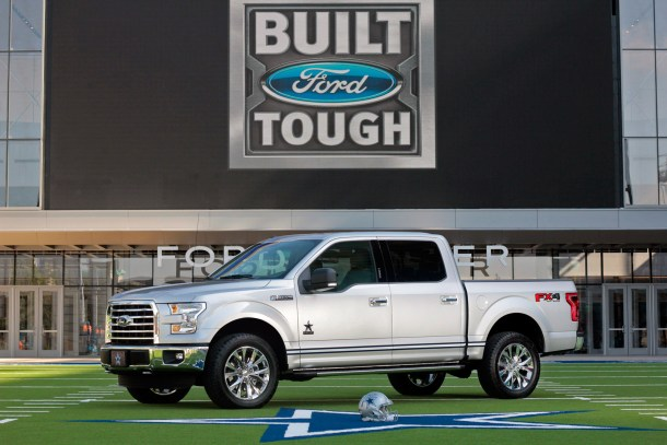 2017 Ford F-150 Dallas Cowboys Edition, Image: Ford