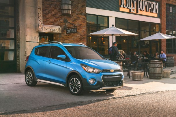 Chevy Spark ACTIV image: General Motors