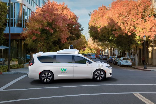 FCA waymo pacifica