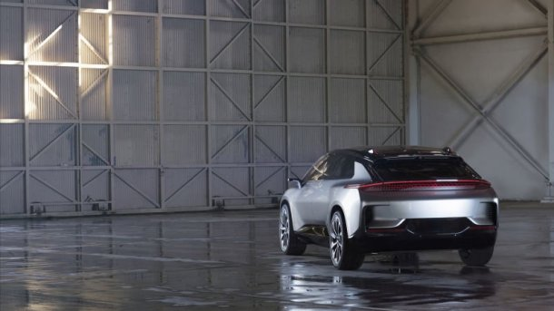Faraday Future FF 91 rear