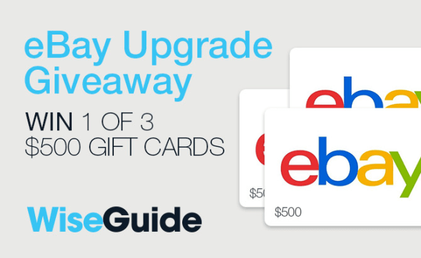eBay Upgrade Giveaway Contest
