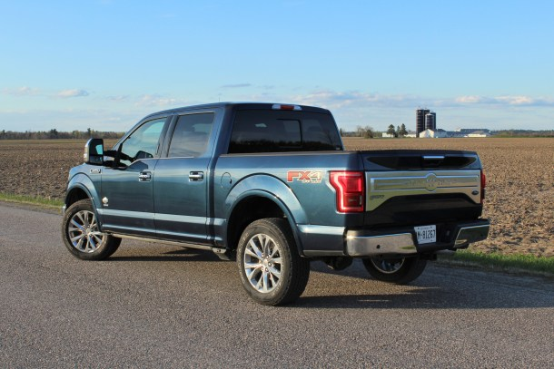 [2017 Ford F-150 King Ranch, Image: Steph Willems/The Truth About Cars]