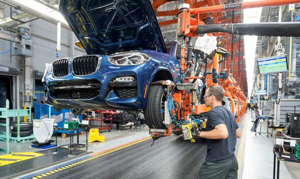 BMW Spartanburg Assembly Plant Factory
