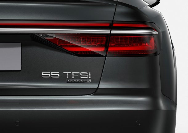 Audi A8 naming numbering, Image: Audi AG