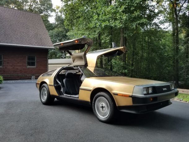 Image; 1983 DeLorean DMC 12