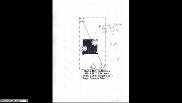 Wichester Rifle Slug Processed