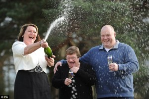 They didn't realize that the court would make them put the champagne back in the bottle as well.