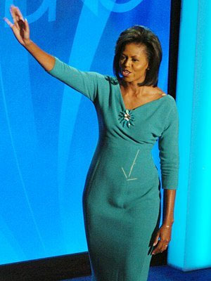 Does Michelle Obama have a penis? Click to enlarge