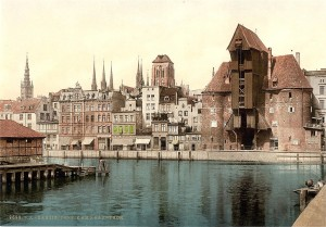 """Smigly was not content with the possession and ethnic cleansing of stolen western Prussia. He also wanted control over the beautiful """"free city"""" of German Danzig (today known as Gdansk, Poland) and eventually all of eastern Prussia too. Click to enlarge"""