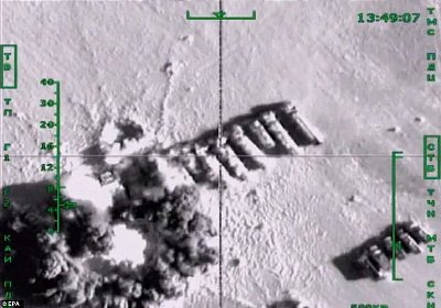 By targeting ISIS oil tankers in Syria, Russia has disrupted a major source of revenue for the militants. Click to enlarge