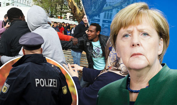 Merkel faces mounting criticism in Germany over the migrant debacle. Click to enlarge