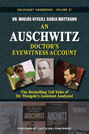 Cover art for an upcoming study of the testimonies of one of the key witnesses propping up the orthodox Auschwitz narrative.