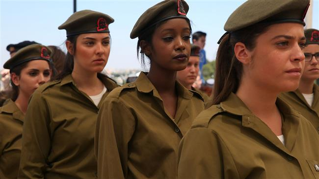 Female IDF soldiers. Click to enlarge