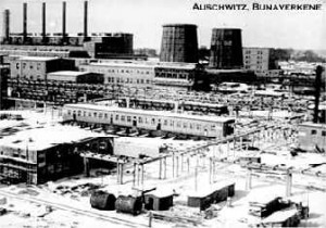 Auschwitz produced synthetic rubber medical and armament suppiles
