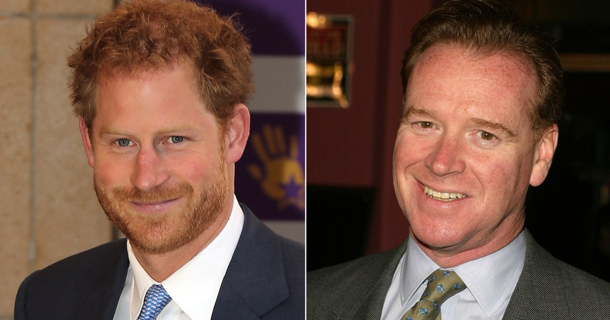 Prince Harry and Princess Diana's former lover James Hewiit. Click to enlarge