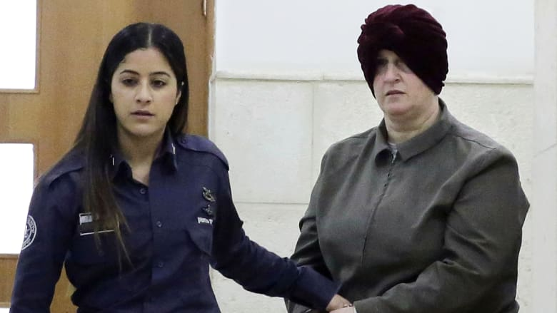 Accused child sex abuser Malka Leifer being held in Israel. Click to enlarge