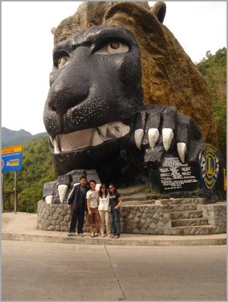 The Famous Lion's Head along Kennon Road