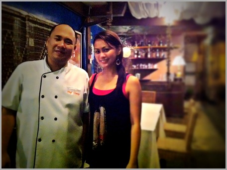 With Chef Tatung