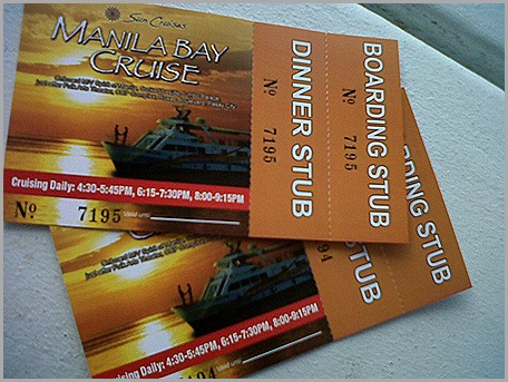 Boarding and Dinner Stubs