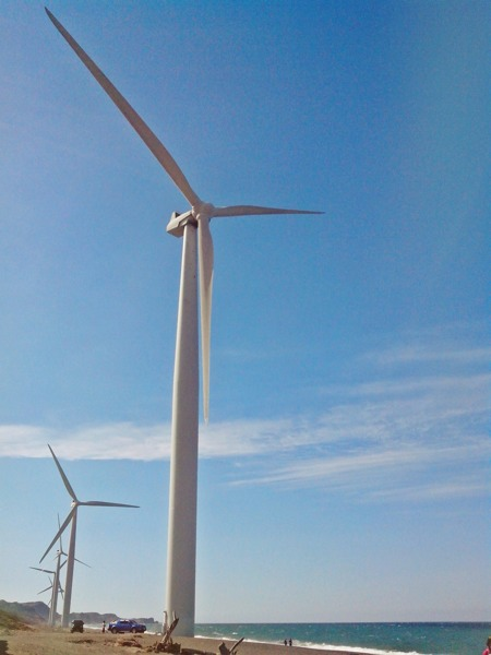 Bangui Windmills up close