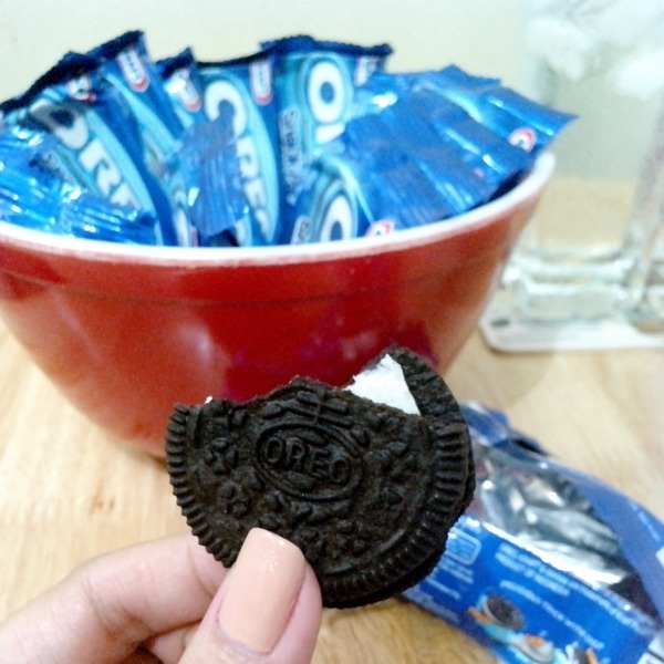 Only Oreo!