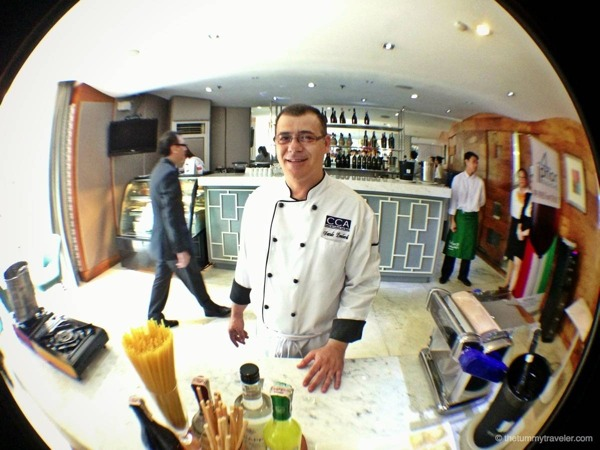 Chef Davide Lombardi