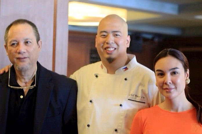 Rustique Kitchen - Chef Bruce Lim - Tony Boy Cojuangco - Gretchen Barretto