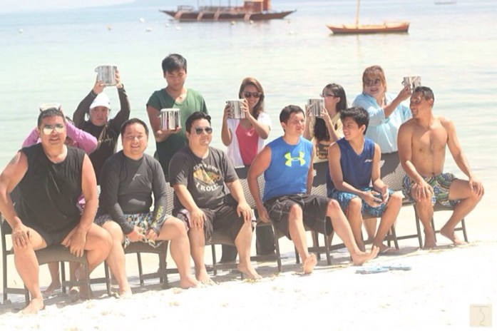 ALS Ice Bucket Challenge - KTG - Bellevue Resort Bohol