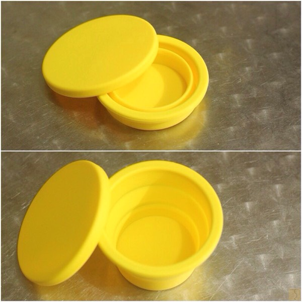 Baby Lab Collapsible Silicone Containers