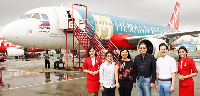 Henann Group of Resorts Special Livery by AirAsia