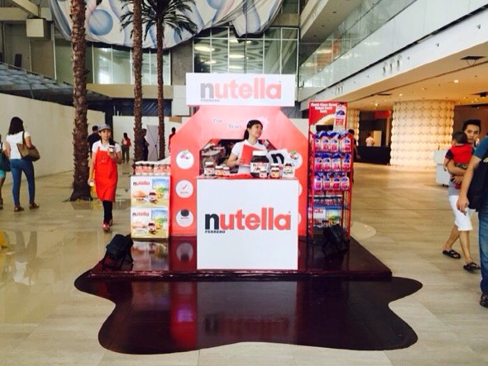 Nutella Pop-Up Store - Landmark