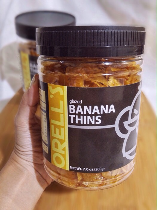 Orell's Banana Thins - Pempeyo
