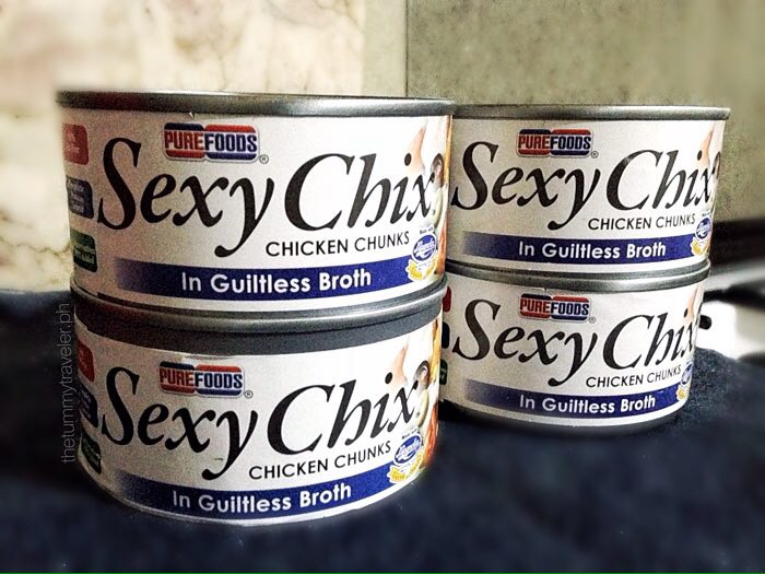 Purefoods Sexy Chix - Sexy Chix in Guiltess Broth - Bloggers Love Chicken - Dreyfus Cuisine - Home Foodie Ako - Healthy Chicken Burrito