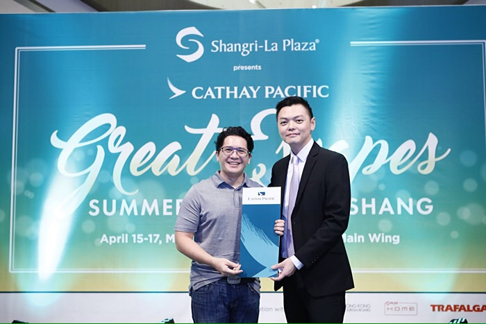 Great Escapes Summer Sale - Shangri-La Plaza, Cathay Pacific