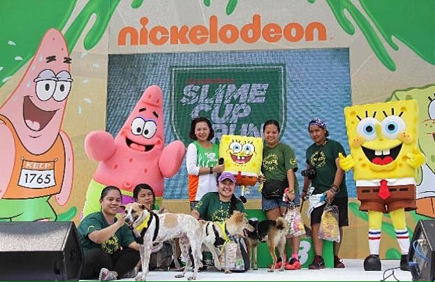 Nickelodeon Slime Cup Run