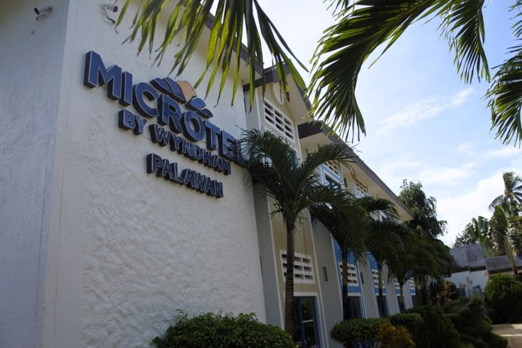 Microtel Inn and Suites Palawan (Front Shot)