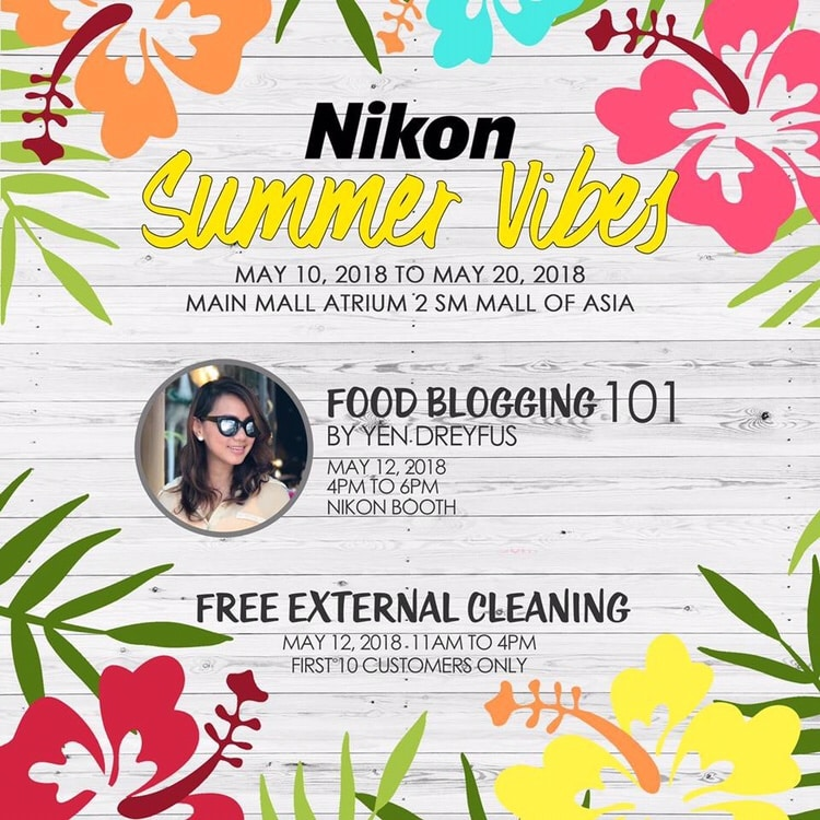 Nikon Philippines - Food Blogging 101