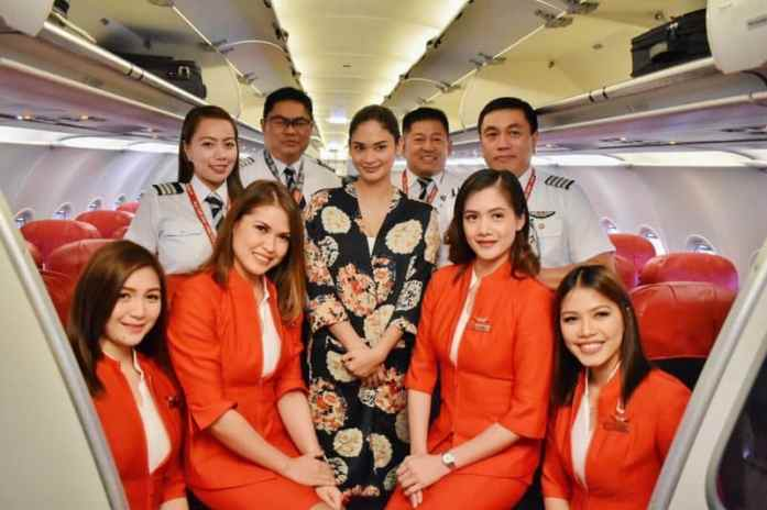 AirAsia - Skytrax World's Best Low-Cost Airline - Miss Universe 2015 Pia Wurtzbach