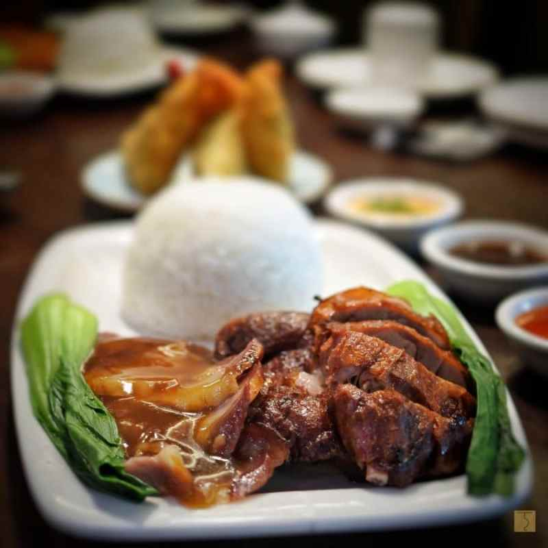 Roast Duck with Asado Rice - King Chef Dimsum Kitchen