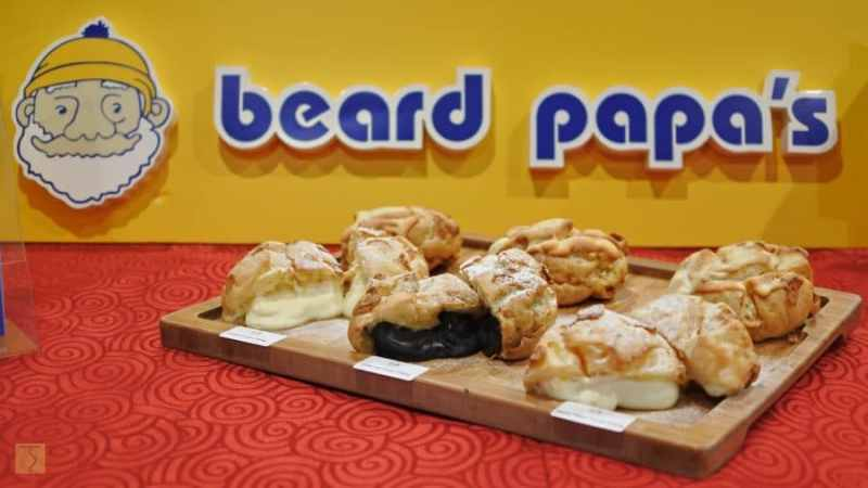 beard papa's selection