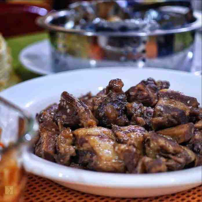 Lucky Spareribs Adobo