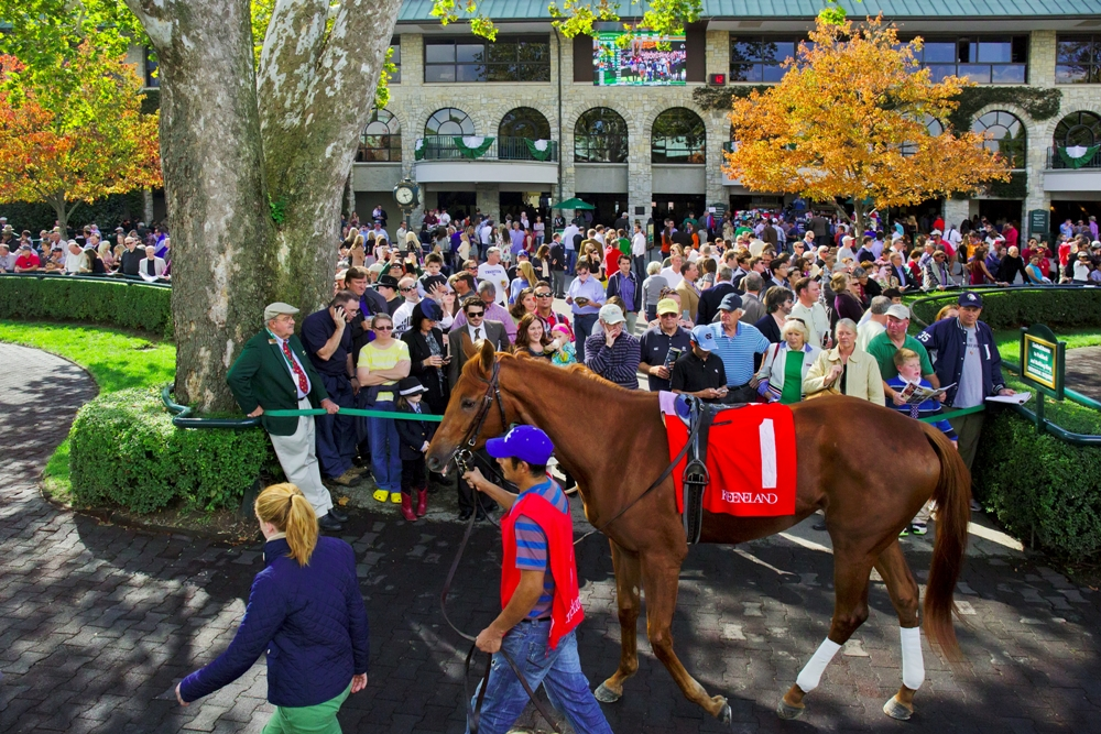 Rachel's Valentina Breezes at Keeneland (with Video!)