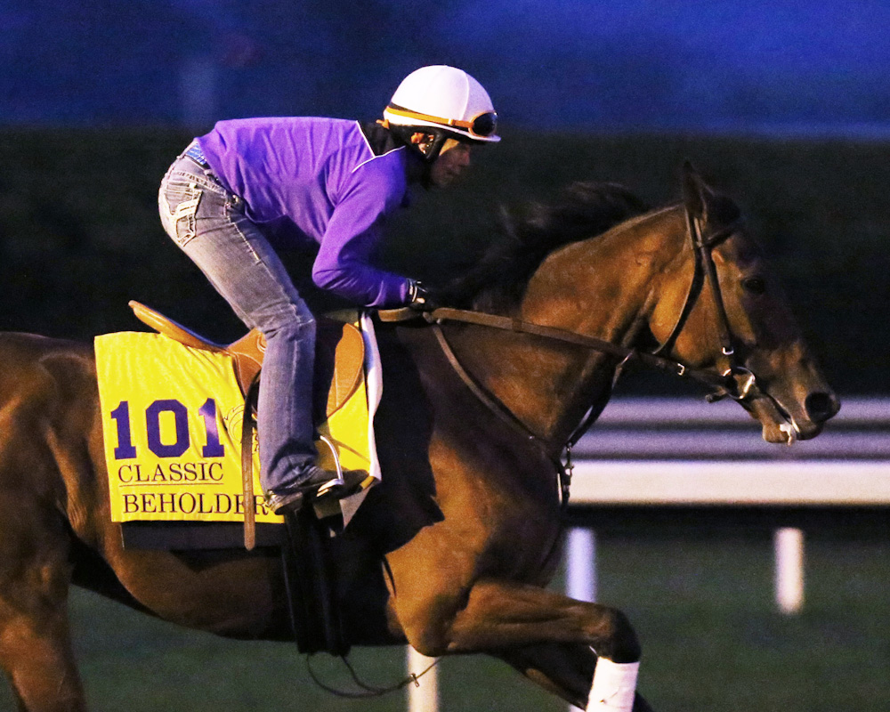 Beholder - Morning Gallop - Keeneland Race Course - 102315