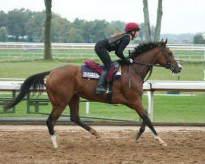 Easter (IRE) | Morning Training | Keeneland Race Course | 09-30-