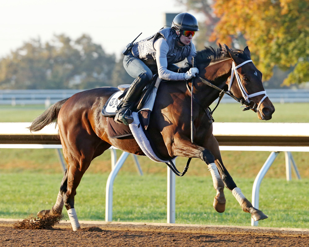 Rachels Valentina - Morning Workout - Keeneland Race Course - 10