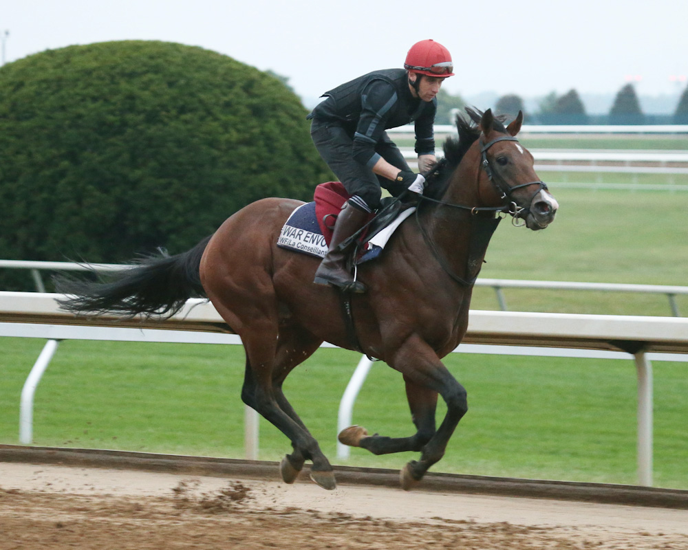 War Envoy Pre-Entered in Breeders' Cup Mile and Dirt Mile