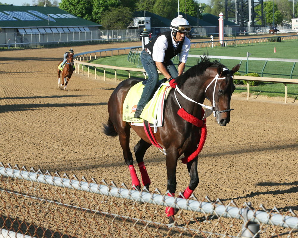 Majesto Completes Derby Training, Jockey Will Be Named Saturday