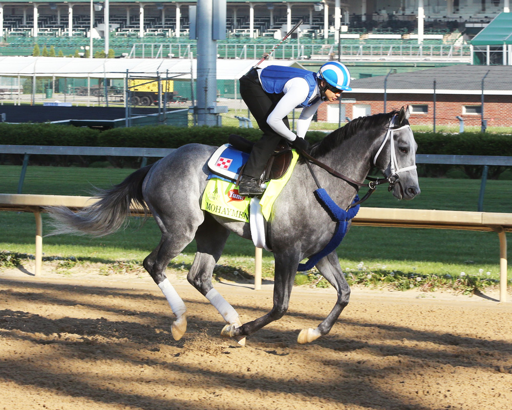 Mohaymen Goes Quick in Final Pre-Derby Workout