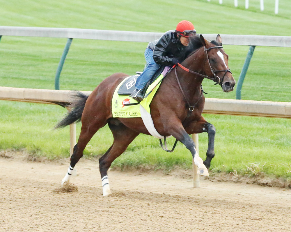 Brody's Cause Flies Through Final Derby Workout